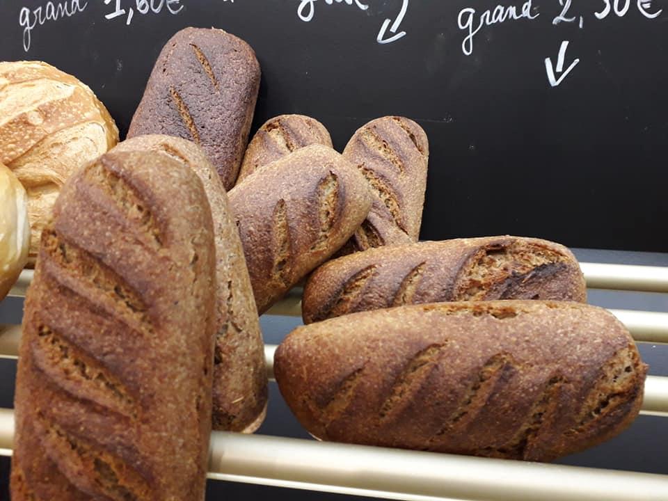 Meunier boulangerie farine pain bio Douarnenez Finistere - Chez la boulangère