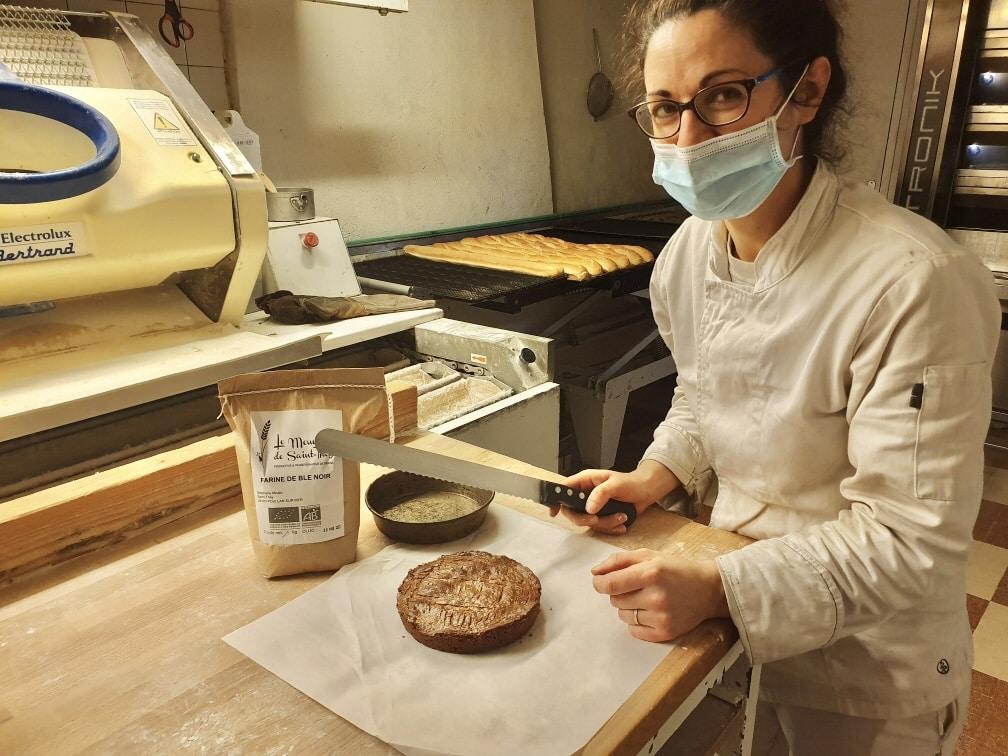 Boulangerie Douarnenez La Muse du Meunier 2 - Chez la boulangère