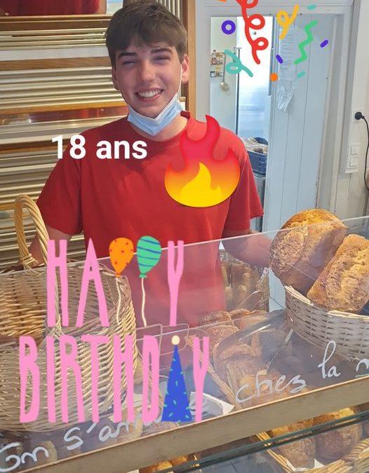 Joyeux anniversaire  Alexis!