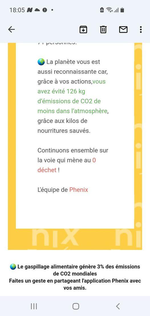 Merci au panier #PHENIX  dans notre boulangerie a…